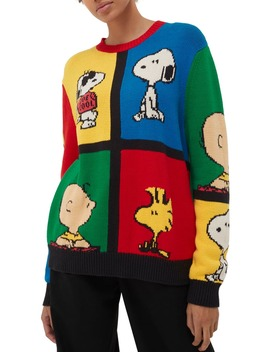 X Peanuts® Pop Intarsia Sweater by Chinti & Parker
