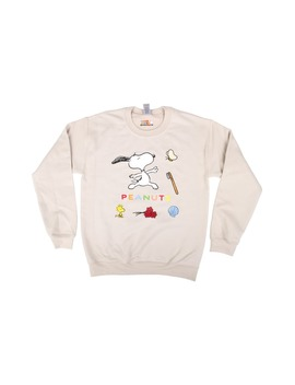 X Peanuts® Snoopy Dance Graphic Sweatshirt by Lorien Stern