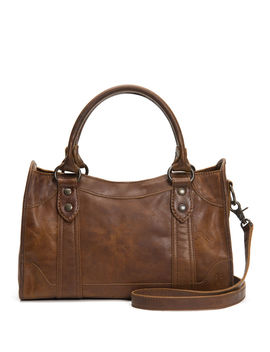 Melissa Leather Satchel Bag by Frye