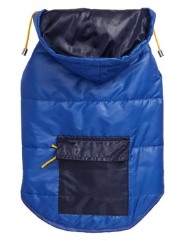 Colorblock Dog Puffer Coat by Ware Of The Dog