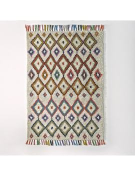 Ourika Berber Style Wool Rug by La Redoute Interieurs