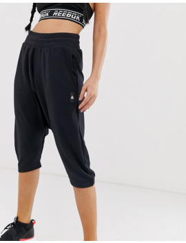 Reebok Training Crop Striker Pants In Black by Reebok