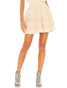 Hanalei Mini Skirt In Sand by Spell & The Gypsy Collective