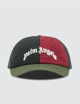 Color Block Cap by Palm Angels