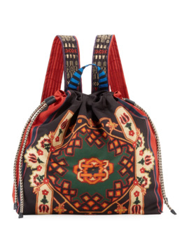Neo Nomad Satin Drawstring Backpack by Etro