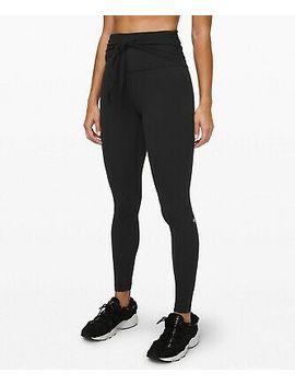"Nwt Lululemon Women's Align Pant 28"" Wrap Waist Black Sz 6 by Ebay Seller"