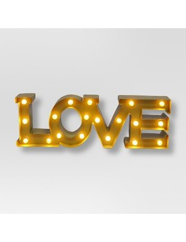 Love Marquee Wall Light   Threshold™ by Threshold