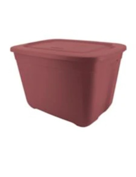Type A Restore Storage Bin, Deep Red, 68 L by Canadian Tire