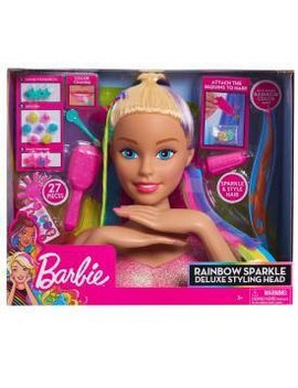 Barbie Rainbow Sparkle Deluxe Styling Head by Barbie