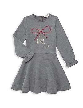 Little Girl's Eiffel Tower Dress by Lili Gaufrette