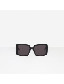 Shield Square Sunglasses by Balenciaga