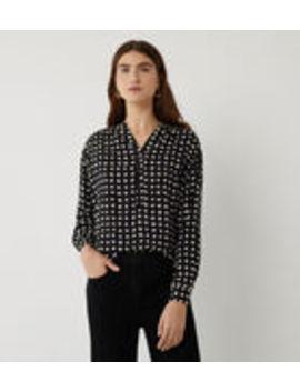 Mono Square Open Neck Shirt by Warehouse
