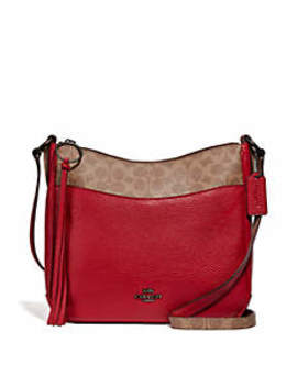 Chaise Crossbody Bag With Signature Canvas Blocking by Coach