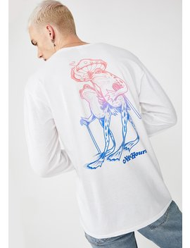 Hop Along Graphic Long Sleeve Tee by No Hours