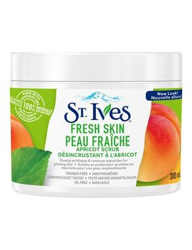 St. Ives Fresh Skin Facial Scrub For Clear, Glowing Skin Apricot Paraben Free 300 Ml by Walmart