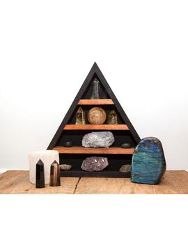 Black And Brown Original Crystal Shelf by Etsy