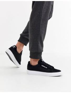 Adidas Originals   Continental Vulc   Sneakers Nere by Adidas Originals