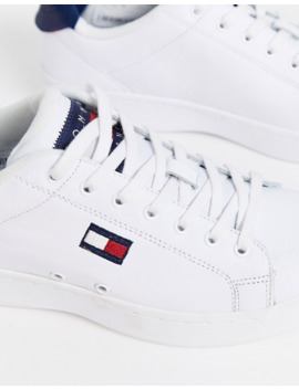 Tommy Jeans   Cupsole Heritage   Sneakers Bianche by Tommy Jeans