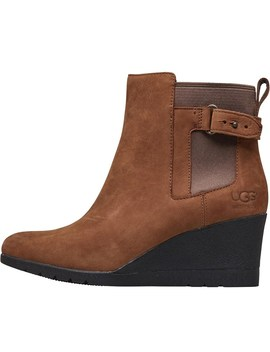 Ugg Womens Indra Waterproof Leather Boots Stout by Ugg