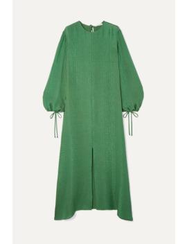Margeaux Silk Jacquard Maxi Dress by Olivia Von Halle