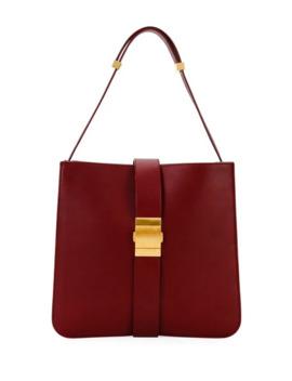 Marie Napa Leather Shoulder Bag by Bottega Veneta