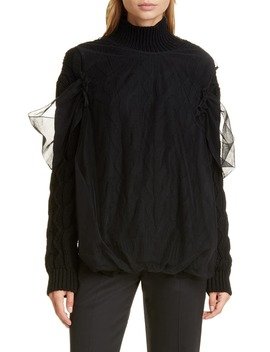Cable Turtleneck Sweater by Simone Rocha