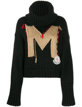 Monogram Knitted Jumper by Moncler