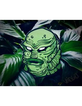 Gillman Creature From The Black Lagoon Sticker By Void Ea D by Etsy