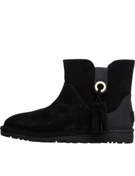 Ugg Womens Gib Ankle Boots Black by Ugg