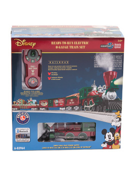 Mickey's Holiday O Gauge Train Set With Value Pack by Tj Maxx