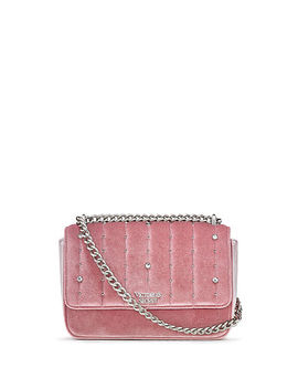 Velvet Stud Small Bond Street Shoulder Bag by Victoria's Secret
