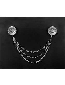 Batman Collar Pins  Super Hero Lapel Pins  Batman Collar Brooch  Lapel Chains Accessory by Etsy