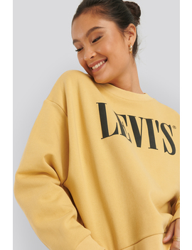 Graphic Diana Crew 90s Sweater Jaune by Levis