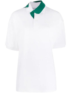 Twisted Collar Polo Shirt by Lacoste