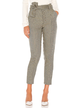 Dillion Pant In Teal & Black by Lovers + Friends