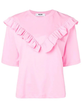 Bib T Shirt by Msgm