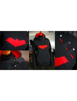 Red Hood Jason Todd Inspired Jacket Xl by Etsy