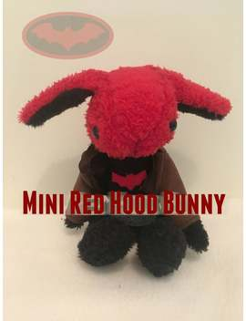 Mini Red Hood Bunny by Etsy