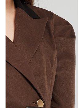 Allie Double Breasted Blazer Dress W/Belt by Storets