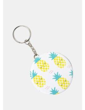 Fruit Print Mirror Keychain by Miss A