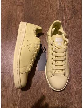 Bnib Raf Simons X Adidas Stan Smith Blush Yellow by Adidas  ×  Raf Simons  ×