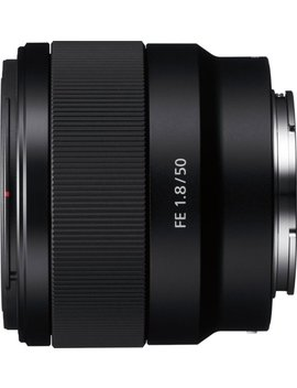 Fe 50mm F/1.8 Standard Prime Lens For Sony E Mount Cameras by Sony