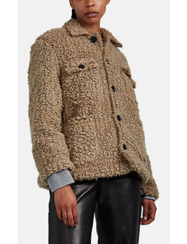 Reese Faux Shearling Coat by Nsf