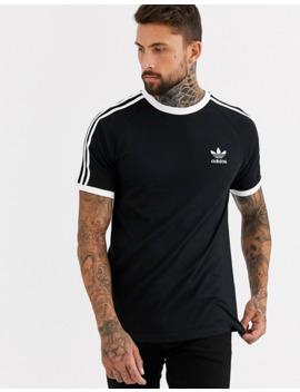 Adidas Originals California T Shirt In Black by Adidas