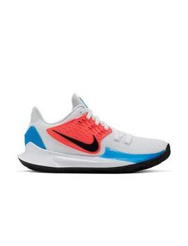 "Nike Kyrie Low 2 ""White/Black/Blue Hero"" Men's Basketball Shoe Nike Kyrie Low 2 ""White/Black/Blue Hero"" Men's Basketball Shoe by Hibbett"