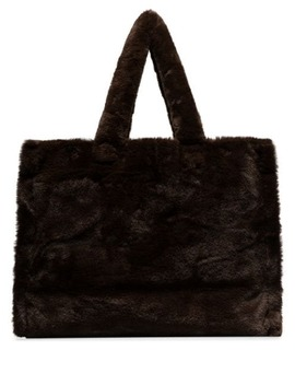 Lola Faux Fur Tote Bag by Stand Studio