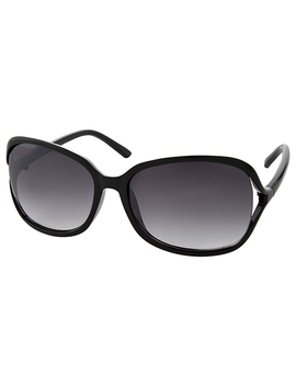 Rochelle Black Sunglasses by Accessorize