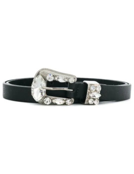 Riley Crystal Buckle Belt by B Low The Belt