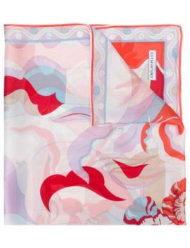 Print Silk Scarf by Emilio Pucci