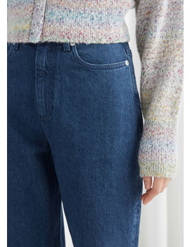 Organic Cotton Blend High Rise Jeans by & Other Stories